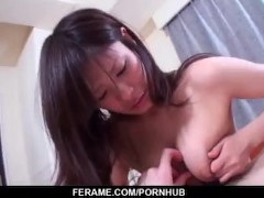 Serious POV Asian sex with Japanese Yukari