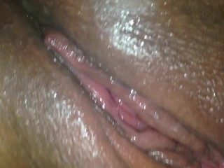 fat wet pussy squirting Mar 2013  This ebony girl must be really turned on and craving for cock because she squirts  like hell while masturbating!