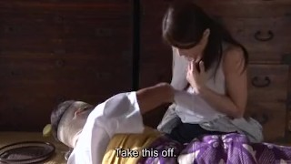 Subtitled Japanese post WW2 drama with Ayumi Shinoda in HD  subtitled asian mom zenra busty subtitles milf japanese bizarre japan cougar mother housewife stripped drama war