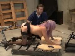 Vyxen Steel Anal Fucking Machine Interrogation BDSM Sex