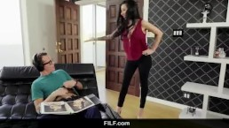 FILF - Lily Lane Catches StepS