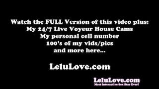 Lelu Love-Vibrator And Dildo Masturbating Orgasm With Closeups