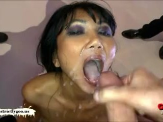 epic cum slut battle - busty asian manga vs milf sex machine viktoria