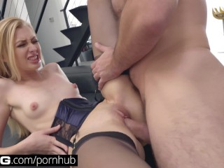 bang gonzo alexa grace gets her tight pussy stretched to the max