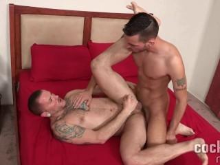 Gio Ryder and Max Cameron Bareback