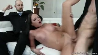 Exotic Swinger Wife Fucks Another Man  whooty wives swingers hubby wife mom husband amateur swingmywife threesomes tattoo milf pawg rough mother anal sharing fake tits