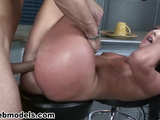ashli orion gets fucked by danny mountain and swallows his cum!