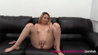 Cute Waitress Inseminated on the Casting Couch