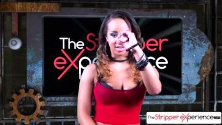 The Stripper Experience - Teanna Trump strip down and them get a hard fuck