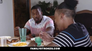 FamilyStrokes- Family Reunion Turned into Fuck Fest  misty stone family taboo milf seduces boy tease black blowjob foursome small tits skinny orgy milf feet group doggystyle small boobs familystrokes taboo