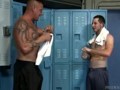 ExtraBigDicks Huge Cock Pops Out of His Shorts