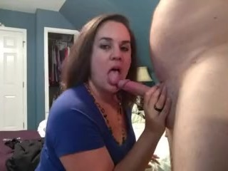 Sultry slut loves sucking cock, getting fucked, and swallowing cum