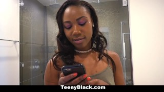 TeenyBlack - Hot Ass Ebony Banged By StepBro  black girl chanell heart point of view booty ebony black interracial smalltits petite shaved bigass bigcock facial teamskeet teenyblack small frame