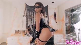 Twistys Hard - Trick or treat xxx scene with Abella Danger