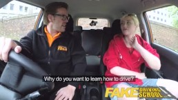Fake Driving School Back seat