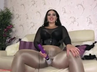 your pantyhose fetish makes you weak