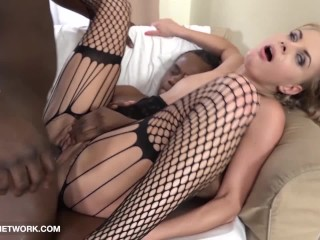 My Mom and Coworker Slut get face and pussy fucked by black cocks and lick