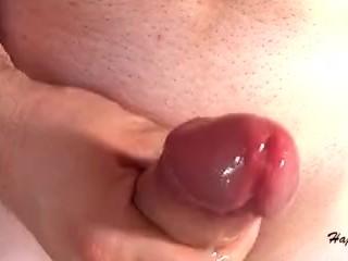 Solo Male Masturbation - Double Cumshots