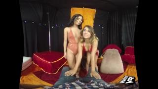 WankzVR - Champagne Room Round 2 ft. Gina Valentina