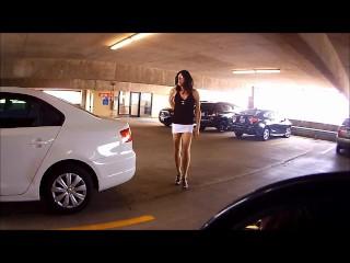 Slut in the Courthouse Garage