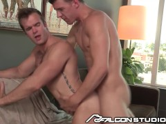 FalconStudios JJ Knight helps Injured Biker with Cock