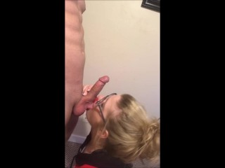 Teen Gf Sucks Cock and Gets Pussy Cumshot
