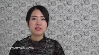 Korean-Japanese Cutie Mao Makes Love with White Guy - Covert Japan  covert japan korean asian wmaf white pov japanese interracial japan shaved tight cute wmaf japanese white guy covertjapancom white man