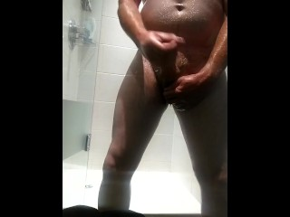 Shower and a cumshot!