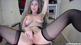 Stripping and Masturbating on Skype for my Professor