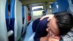 O muie facuta in trenul spre mare