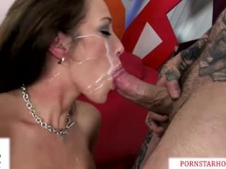 porn slut capri cavanni pounded by huge cock gets massive facial