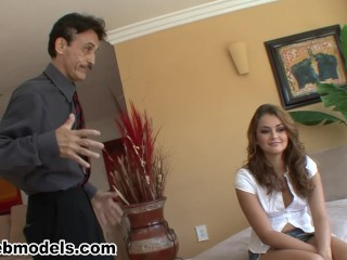sexy whore allie haze fucked and facialed by older dude! a+