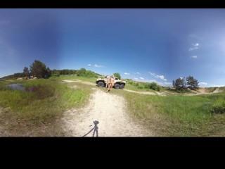 066 - trailer - Izzy Delphine + Nikky Dream Lesbian softcore 3DVR360 SBS