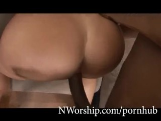 hot big tits slut fucked with big black cock interracial porn