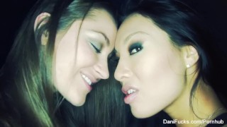 Lesbian anal play with Dani Daniels and Asa Akira  babe asian pornstar puba tattoo skinny toys hardcore anal toy lesbian japanese brunette danidaniels anal danifucks sex toys natural tits adult toys girl on girl