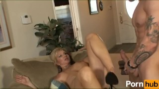 brunette milf mature mom mother reality huge tits big dick blowjob fetish kink tattoo cougar face fuck deep throat titty fuck
