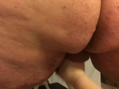 Small penis humiliation handjob - tiny dick cuckold gets jerked off by wife