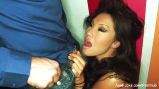 Asian hottie Asa Akira teases and takes it in the ass  hardcore assfuck cream pie asa akira asian squirting puba porn star tease tattoo japanese asafucks anal brunette ass fuck doggy style skinny missionary