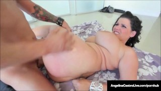 Cuba's #1 Export Angelina Castro Loves Cum On Her Huge Tits!