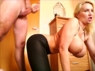 Cum over my big juicy ass