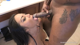ROME Big Tit Milf Brianna Bentley slammed by BBC  bathroom sex big cock booty mom cumshot curvy rough mother doggystyle big boobs bb latina cim thick drilled raven romemajorxxx hard fast fuck