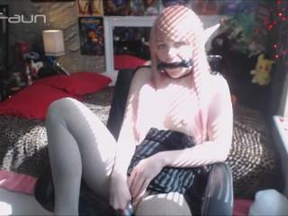 Slutty Elf Slave Gagged and Fucked by Dragon