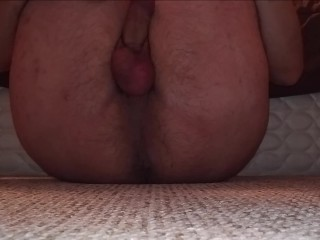 JeromeKox - Ass And Balls View While Masturbating To Orgasm