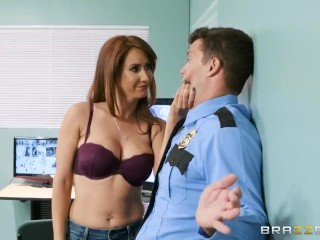 Isis Teaches A Mall Cop A Lesson - Brazzers