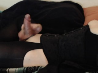 corset cumshot