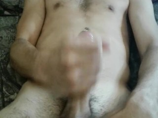 pierced penis play with buttplug