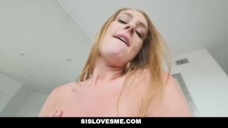 SisLovesMe - Horny Sis Has A Fat Ass  step siblings big ass step bro point of view family booty redhead blonde small tits pov butt sislovesme cream pie step brother daisy stone step sister