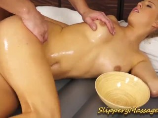 slippery nuru massage sex with carla cox
