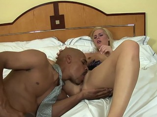 blonde coed whore tara lynn foxx fucked by bbc big black cock! a++