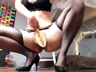tall sexy woman gives you naughty joi at work part 2